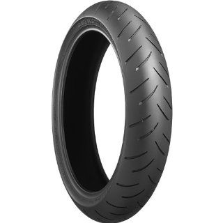 Bridgestone Battlax BT 015 Radial Tire   Front   120/70ZR 17, Speed Rating W, Tire Type Street, Tire Construction Radial, Tire Application Sport, Load Rating 58, Position Front, Rim Size 17, Tire Size 120/70 17 124092 Automotive