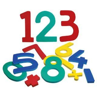 Jumbo Numbers 0   9 With Math Symbols Health & Personal Care