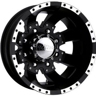 Ultra Goliath Dually 16 Black Wheel / Rim 8x6.5 with a  140mm Offset and a 130 Hub Bore. Partnumber 023 6681RB Automotive