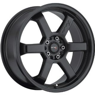 Drifz Hole Shot 18 Black Wheel / Rim 5x4.5 & 5x120 with a 35mm Offset and a 74.1 Hub Bore. Partnumber 303B 8805735 Automotive
