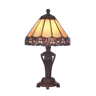 Dale Tiffany Peacock Accent Lamp