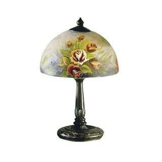 Dale Tiffany Rose Dome Desk and Table Lamp