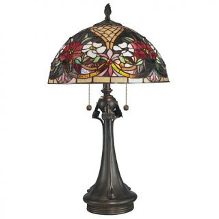 Dale Tiffany Rose Garden Desk and Table Lamp