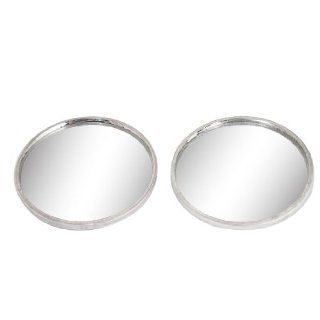 40mm Dia Adhesive Back Wide Angle Viewing Blind Spot Mirror 2 Pcs for Car Automotive