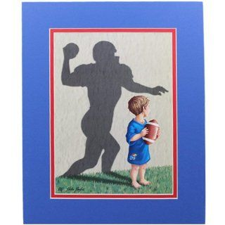 NCAA Kansas Jayhawks 11'' x 14'' Football Player Team Tots Picture  Sports Fan Prints And Posters  Sports & Outdoors
