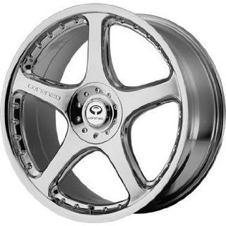 Lorenzo WL028 18x8 Chrome Wheel / Rim 5x112 & 5x4.5 with a 32mm Offset and a 72.60 Hub Bore. Partnumber WL02888046232 Automotive