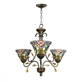 Dale Tiffany Crystal Peony 3 Light Fixture
