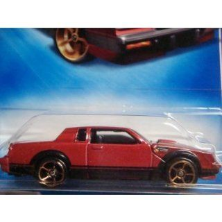 Hot Wheels Buick Grand National FTE Deep Red Black Base #131 scale 1/64 Collector Toys & Games