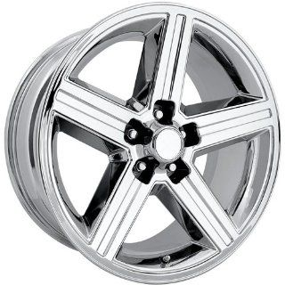 Rev Replicas Iroc 22 Chrome Wheel / Rim 5x4.75 with a 12mm Offset and a 71 Hub Bore. Partnumber 652C 2934 Automotive