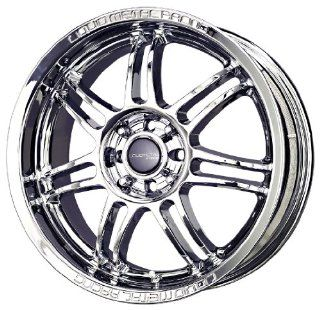 "Liquid Metal Velocity Series Chrome Wheel (17x7.5""/4x100mm) Automotive"