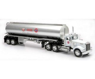 NEW RAY Kenworth W900 76 Gasoline Tanker Truck 132 Diecast Trailer 76 Unical Singel Toys & Games