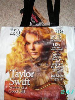 Taylor Swift tote bag purse   Rolling Stone magazine cover Toys & Games