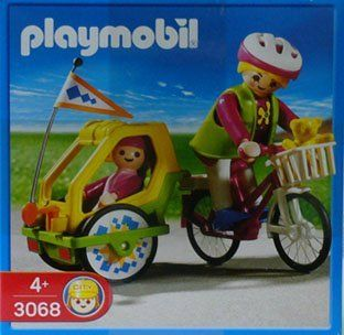 Playmobil City Life Bike with Trailer (3068) Toys & Games