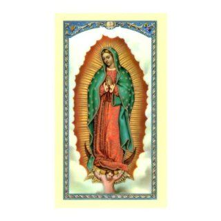 Prayer to Our Lady of Guadalupe Holy Card (800 105)
