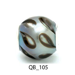Authentic Galatea Black South Sea Pearl Queen Bead QB 105 Jewelry