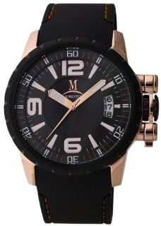 Momentus Stainless Steel Black Rubber Band Dial Black Men's Watch FS108R 04RB Momentus Watches