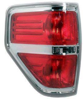 OE Replacement Ford F 150 Driver Side Taillight Lens/Housing (Partslink Number FO2818143) Automotive