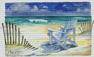 Art Needlepoint Sand and Shadows Needlepoint Canvas by Paul Brent Arts, Crafts & Sewing