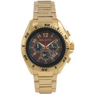 Ballistic BWE114 Mens Chronograph Brown Gold Watch Watches