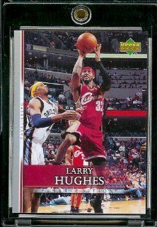2007 08 Upper Deck First Edition # 122 Larry Hughes   NBA Basketball Trading Card in a Protective Display Case Sports Collectibles