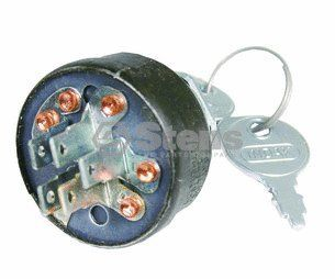 Stens 430 136 Starter Switch Replaces Snapper 7026343 Robin X66 00004 10 Snapper 2 6343 Simplicity 1686637 1686637SM Patio, Lawn & Garden