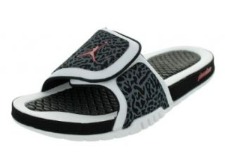 Nike Jordan Hydro 2 Men Sandals Color White/Black/Gym Red 312527 124 (SIZE 13) Shoes