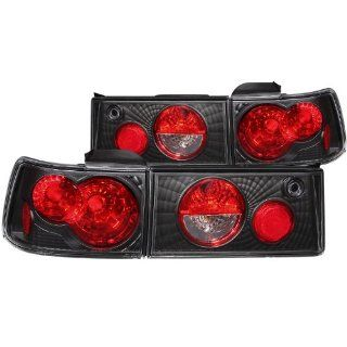 Anzo USA 221033 Honda Accord Black Tail Light Assembly   (Sold in Pairs) Automotive