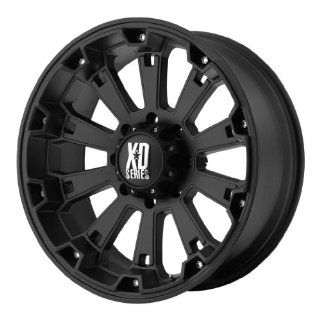 KMC XD Series Misfit (20 x 9, 5 x 139.7/5.5) 0 Offset, Matte Black, (1) Wheel/Rim Automotive