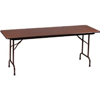 "Heavy Duty Laminate Top Training Table   24""W x 72""L x 22"" 32""H"