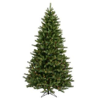 "Vickerman 16089   7.5' x 54"" Black Hills Spruce 700 Multi Color Lights Christmas Tree (A894177)   Artificial Christmas Trees"