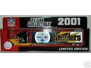 2001 Pittsburgh Steelers 180 Scale Diecast Tractor Trailer Semi NFL  Sports Fan Toy Vehicles  Sports & Outdoors