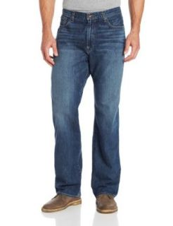 Lucky Brand Men's 181 Relaxed Straight Leg Jean In Medium Clarksville Clothing