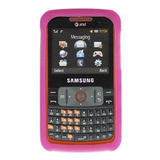 Hot Pink Silicone Case / Skin / Cover for Samsung Magnet SGH A257 / SGH A177 Cell Phones & Accessories