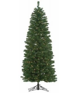 5 ft. Winchester Pine Pencil Pre lit Christmas Tree with Metal Base   Christmas Trees