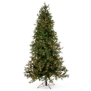 7.5 ft. Balsam Fir Pre Lit Christmas Tree   Christmas Trees