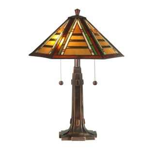 Dale Tiffany Grueby Tiffany Table Lamp   17 watt in.   Tiffany Table Lamps