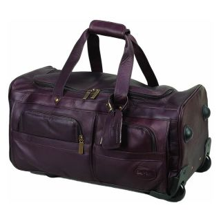 ClaireChase Personalized 22 in. Rolling Duffel Bag   Cafe   Sports & Duffel Bags