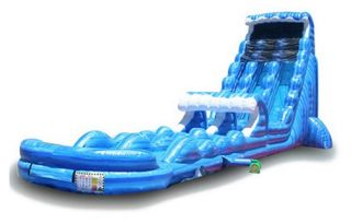 EZ Inflatables 27 ft. Tsunami Water Slide   Commercial Inflatables