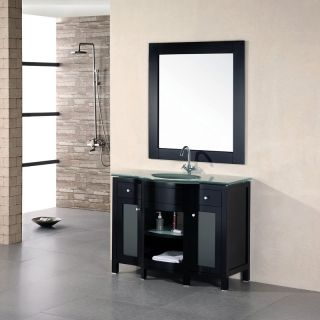 Design Element Rome 43 in. Single Bathroom Vanity Set   Single Sink Bathroom Vanities