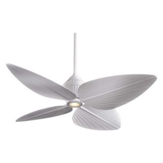 Minka Aire F581 WHF Gauguin 52 in. Indoor / Outdoor Ceiling Fan   White   Outdoor Ceiling Fans