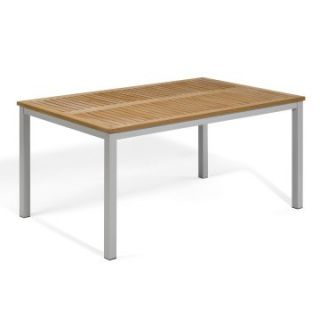 Oxford Garden Travira 63 in. Table   Patio Tables