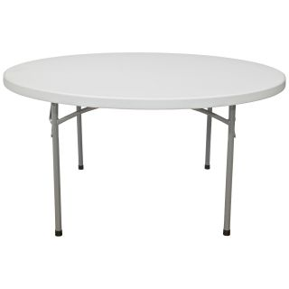 National Public Seating BT Series 71 in. Round Folding Table 10 or 20 Pack   Banquet Tables