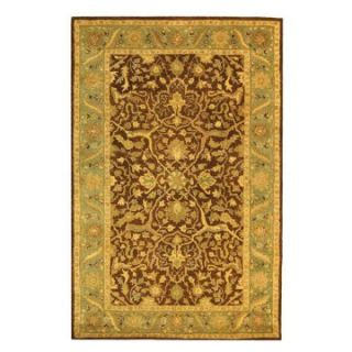 Safavieh Antiquities AT14F Area Rug   Brown/Green   Area Rugs