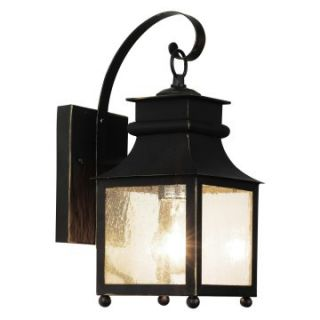 Trans Globe 45630 WB Coach Lantern   Weather Bronze   6W in.   Outdoor Wall Lights