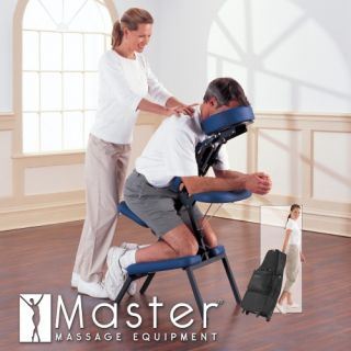 Master Massage Professional Massage Chair Package with Free Wheeled Carry Case and 100 Face Pillow Covers   Massage Chairs