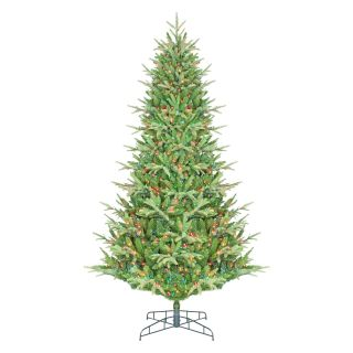 7.5 ft. Tillamook Full Multi Colored Pre Lit Christmas Tree   Christmas