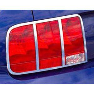 2005 2008 Honda Accord Tail Light Cover   Putco, Direct fit, Automotive grade tape, Plastic