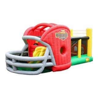 Kidwise Football Gridiron Challenge Bounce House   Commercial Inflatables