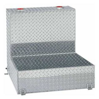 Tradesman 48 Gallon Aluminum L Shaped Storage Tank   Truck Tool Boxes