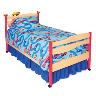 Boys Like Trucks Twin Bedding Ensemble   Bunk Bed Mattresses